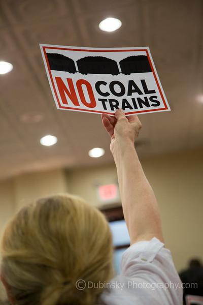 No Coal Trains - Gretna City Council Meeting 8-13-14