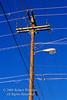 Utility Pole with many wires, Durango, Colorado, USA
