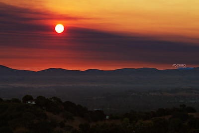 Mt Diablo Fire, 2013