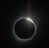 Diamond Ring at end, Total Solar Eclipse, Auguat 21, 2017, Driggs, Idaho, USA, North America