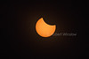 Total Solar Eclipse, Prior to Totality, August 21, 2017, Driggs, Idaho, USA, North America