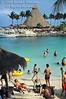 Beach Scene, Xcaret, An Eco Archaeological Park, State of Quintana Roo, Yucatan Peninsula, Mexico