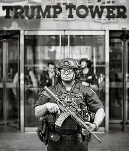 NYPD, Trump Tower, NYC, NY