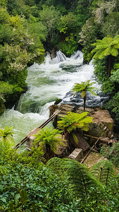 Okere Falls in New Zealand