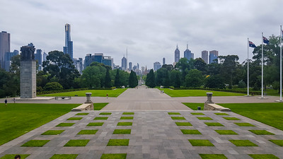 The Shrine of Remembrance, Melbourne