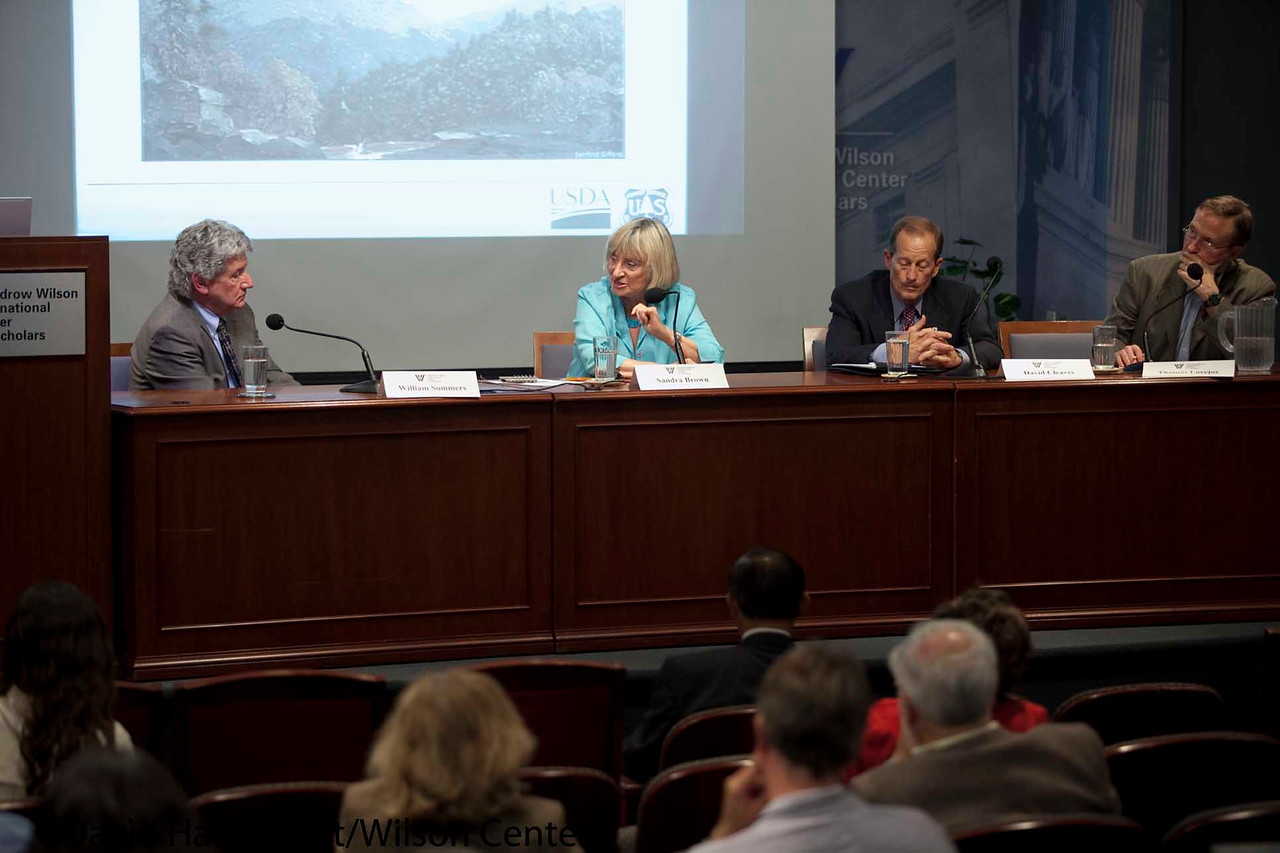 Managing our Forests: Carbon, Climate Change and Fire<br /> <br /> Speaker(s): Sandra Brown, David Cleaves, William Summers