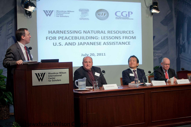 Post-Conflict Security and Diplomacy: Integrating Natural Resource Management and Infrastructure Redevelopment into US and Japanese Peacebuilding Initiatives
