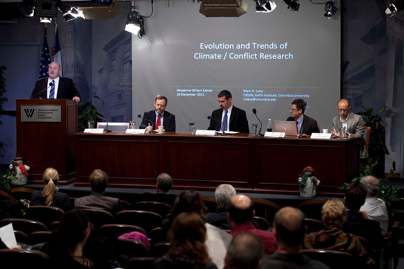 Climate Change and Conflict<br /> <br /> Speaker(s): Joe Hewitt, Solomon Hsiang