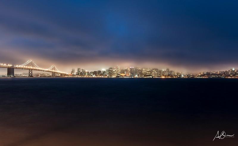 San Francisco: Treasure Island Evening.