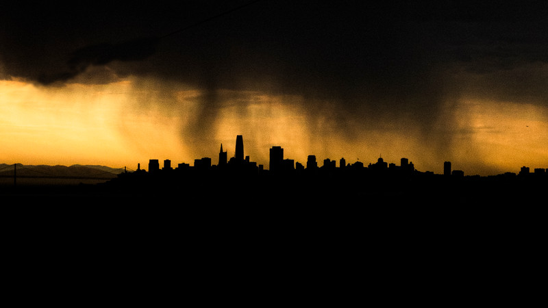 San Francisco, Calif:  Then came Lightening.