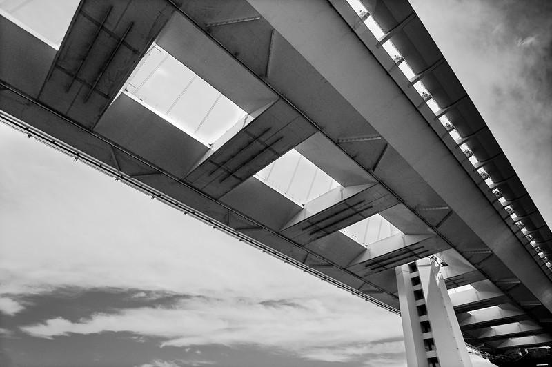 Under the Bridge: San Francisco-Oakland.