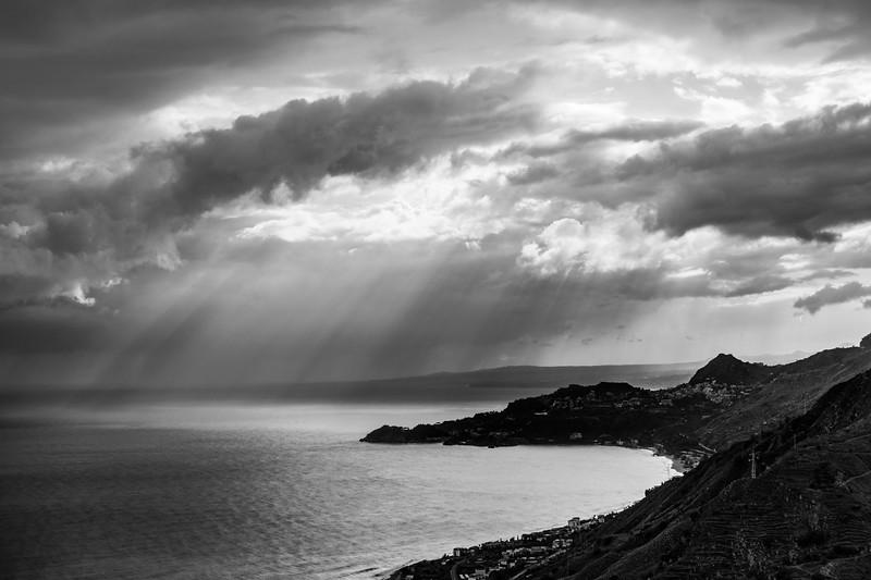 Sicily, Italy:  Rain and Sun.