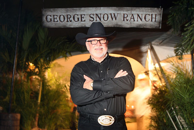 012912 - BOCA RATON - Tim Snow photographed Saturday evening at the George Snow Scholarship Fund's 19th Annual Caribbean Cowboy Ball.  photo by Tim Stepien