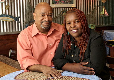 091910 - DELRAY BEACH - Donald and Beverly Jacobs, owners of Bamboo Fire.  Photo by Tim Stepien
