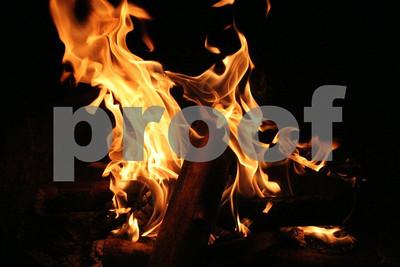 Wood fire  1574