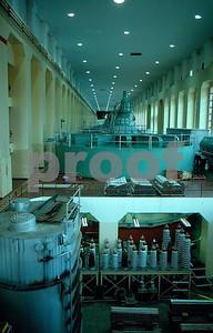 Bonnevile Dam interior, v