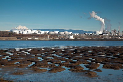 Baker, oil refinery 0276