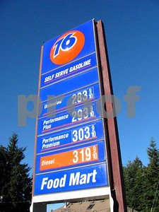Gas prices in Sep. 2005
