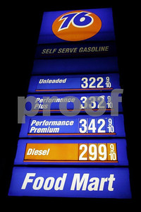 Price of gas on Apr. 29, 2007