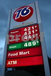 Gas prices on June 9, 2008 9243