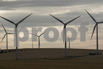 wind power near Dayton, WA