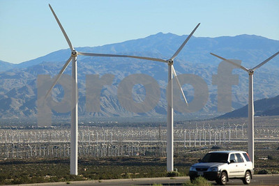wind power, San Gorgonio Pass, CA