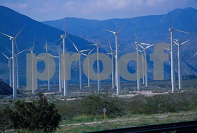 wind power, Palm Springs, CA