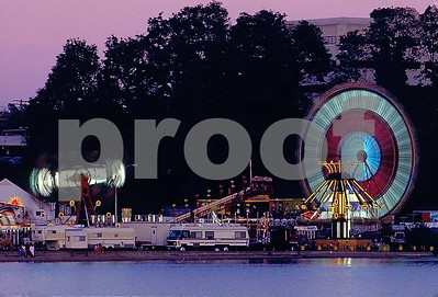 The Captiol Lake Fair in 1985.
