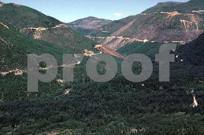 Series #2: Regrowth of Douglas-fir on the North Fork Kalama River taken on July 10, 1985.