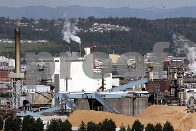Pulp mill in Tacoma, WA in 2008.