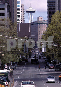 Seattle, Jackson and 2nd St., view north, May 2006.
