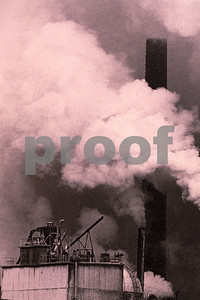 Emissions from pulp plant.
