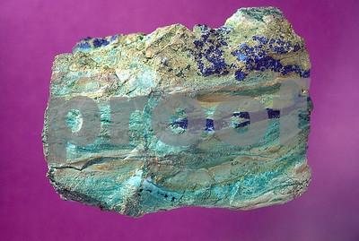Copper-chrysocolla & azurite