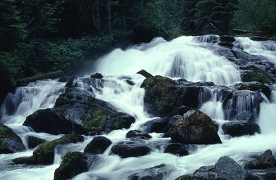 Cataract Falls in Washington State.