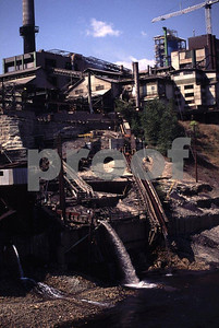 The copper smelter in Trail, British Columbia, Canada that for years discharged its wastes directly into the Columbia River that flows through Washington state. The toxic chemicals accumulated in Roosevelt Lake behind Grand Coulee Dam creating severe water quality issues for fish and wildlife, the Native American Tribes and local residents.