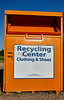 Recycling collection center bin community cleanup disposal