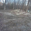 Looking north at what used to be woods along the Little Patuxent (at right)<br /> <br /> 11-28-11