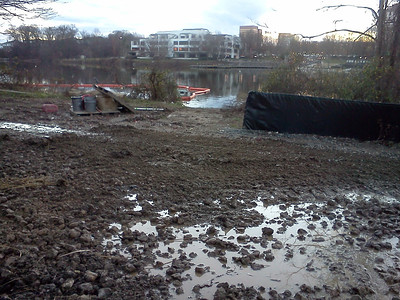 Construction at Little Patuxent River & Lake Kittamaqundi
