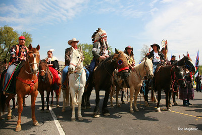 On April 22nd, a group of ranchers, farmers and tribal communities from along the Keystone XL tar sands pipeline route, called the Cowboy and Indian Alliance, rode into Washington DC and set up camp near the White House to tell President Obama to reject the pipeline.