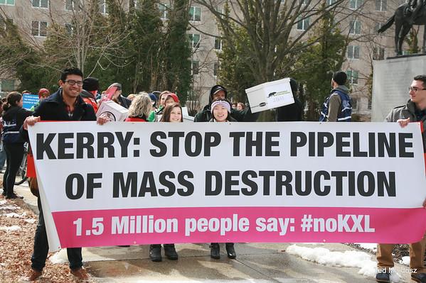 Keystone XL Pipeline Petitions  3/7/14