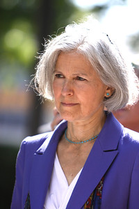 Jill Stein, physician, mother, Green Party Candidate for President.   http://www.jillstein.org/