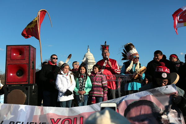Standing Rock & Beyond #NoDAPL - March on Washington DC 12/10/16