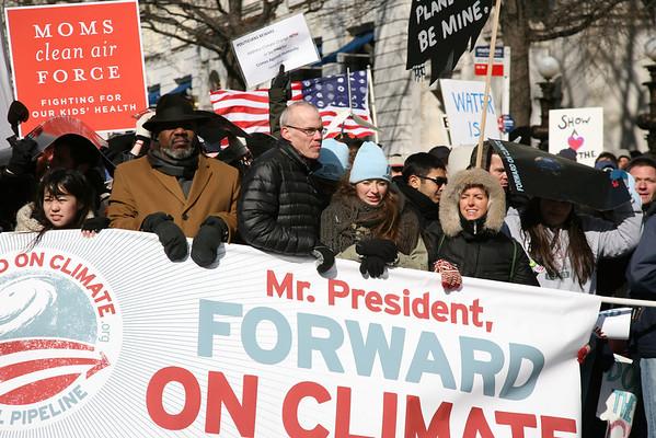 Tar Sand Protest White House 2/17/13