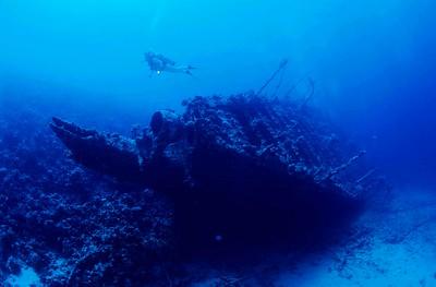 Epave du CARMATIC, mer Rouge, Egypte