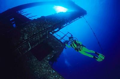 Epave du GHIANNIS, mer Rouge, Egypte