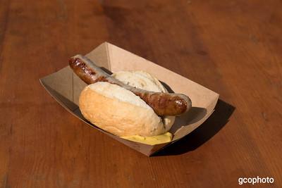 Roast Bratwurst in a Hard Roll - ****