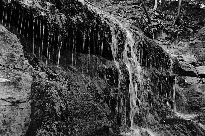 The Falls up close