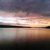 Sunset on the Kitsap Peninsula, Puget Sound Washington