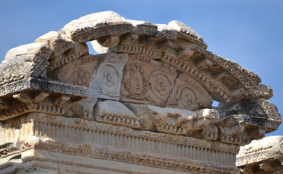 Arch of the Temple of Hadrian, Ephesus.