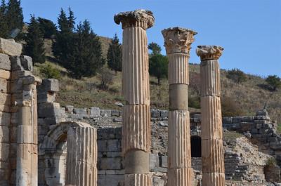 Ruins of Ephesus.
